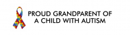 Bumper Sticker - Autism Ribbon Proud Grandparent Of A Child Wit