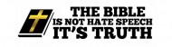 Bumper Sticker - Biblical Traditional Marriage The Bible Is Truth