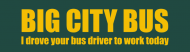 Bumper Sticker - Big City Bus