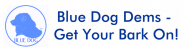 Bumper Sticker - Blue Dog Democrat