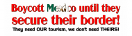 Bumper Sticker - Boycott Mexico