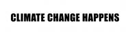 Bumper Sticker - Climate Change Happens