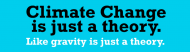 Bumper Sticker - Climate Change Hoax