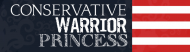 Bumper Sticker - Conservative Warrior Princess
