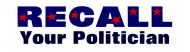Bumper Sticker - Custom Political Recall