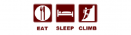 Bumper Sticker - Eat Sleep Climb T Shirt And Gift Design