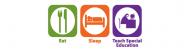 Bumper Sticker - Eat Sleep Teach Special Education