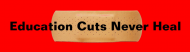Bumper Sticker - Education Cuts Never Heal