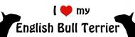 Bumper Sticker - English Bull Terrier