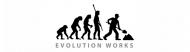 Bumper Sticker - Evolution Construction More Worker