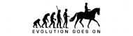 Bumper Sticker - Evolution Horse Riding