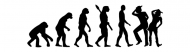 Bumper Sticker - Evolution Line Dance