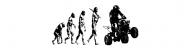 Bumper Sticker - Evolution ATV