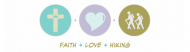 Bumper Sticker - Faith Love Hiking
