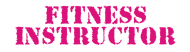Bumper Sticker - Fitness Instructor Pink