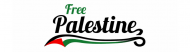 Bumper Sticker - Free Palestine Baseball Style