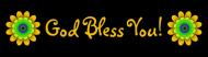 Bumper Sticker - God Bless You