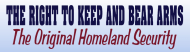 Bumper Sticker - Homeland Security Is Right To Keep And Bear Arms