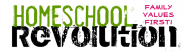 Bumper Sticker - Homeschool Revolution Family Values First