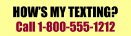 Bumper Sticker - Hows My Texting