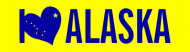 Bumper Sticker - I Love Alaska