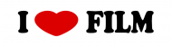 Bumper Sticker - I Love Film Bumper