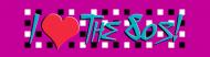 Bumper Sticker - I Love The 80s