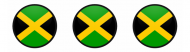 Bumper Sticker - Jamaica Quality Flag Circle