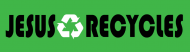 Bumper Sticker - Jesus Recycles