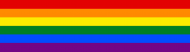 Bumper Sticker - Lgbt Gay Pride Rainbow Flag Stripe