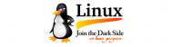 Bumper Sticker - Linux Join The Dark Side We Have Penguins