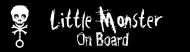 Bumper Sticker - Little Monster On Board