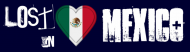 Bumper Sticker - Lost In Mexico Mexican Flag Heart