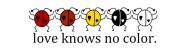Bumper Sticker - Love Knows No Color