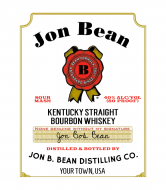 Liquor Label - Kentucky Whiskey