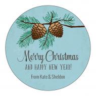 Holiday Sticker - Winter Pine