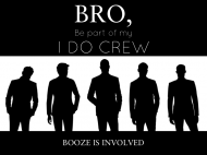 Wedding Soda Label - Groom's I Do Crew