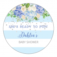 Baby Sticker - Baby Boy Blue