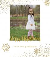 Holiday Wine Label - Christmas Wine Gift