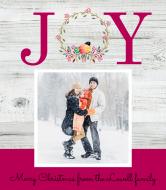 Holiday Wine Label - Christmas Joy
