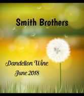 Expressions Wine Label - Dandelion Wine
