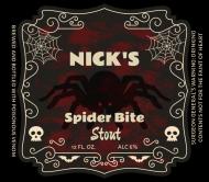 Holiday Beer Label - Spider Bite