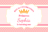 Birthday Gift Tag - Pink Princess Birthday