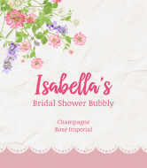 Wedding Champagne Label - The Sweetest Thing