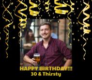 Birthday Beer Label - Birthday Surprise