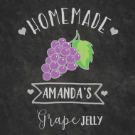 Food Label - Grape Jelly