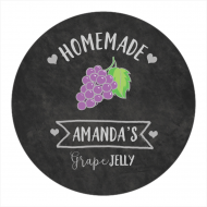 Canning Label - Grape Jelly