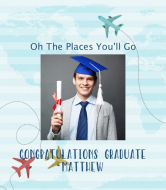 Graduations Wine Label - The Places You'll Go