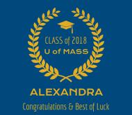 Graduations Beer Label - Graduate Honor