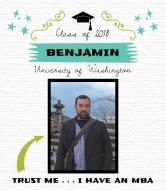 Graduations Wine Label - MBA Degree